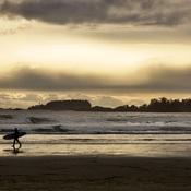 The last wave Cox Beach Tofino