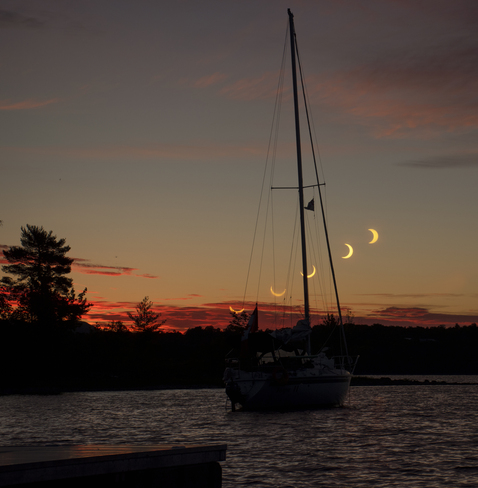 Solar Eclipse Ottawa, ON