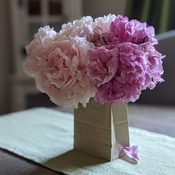 The perfect peonie bouquet
