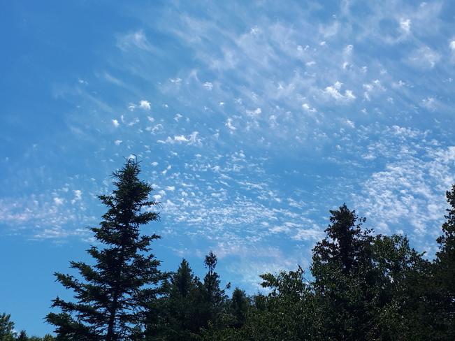 clouds Kagawong, ON