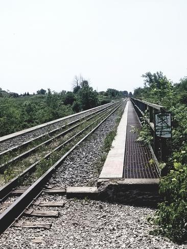 old train tracks Welland, ON