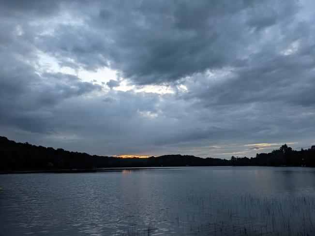 Morning in Kashagawigamog Lake Allsaw, ON