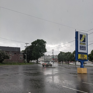 raining in the north end today