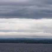 Cloudscape over the Ottawa River