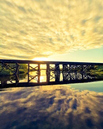 Pont ferroviaire Senneterre, QC