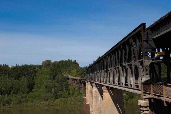 The Nipawin CPR Bridge Nipawin, SK
