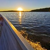 Talon Lake sunset