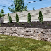 no more hill. armor stone wall