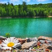 Le lagon bleu!