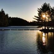 Sunset at Talon Chutes