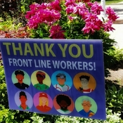 June 17 2021 26C Thank you front line workers! - Thornhill