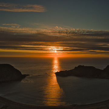 bottle cove , Newfoundland ,Canada ,, Sunsets to remember !
