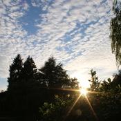 Alto Cumulus Cloud