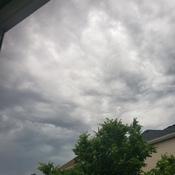Weird clouds over kanata