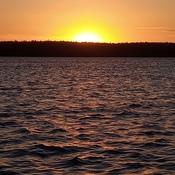 Sunset at FANCYFREE ILAND