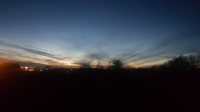 coucher de soleil Saint-Jacques, QC