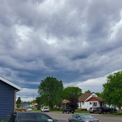 Nasty clouds rolling in.