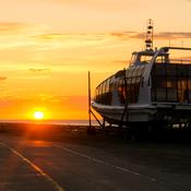 Réveil matinal à l'Île aux Coudres