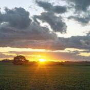 Sunset at Balmoral MB