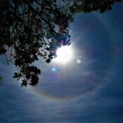 SUNBOW AND DAY MOON