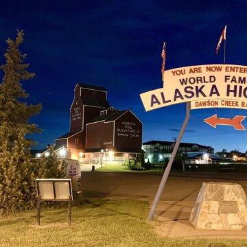 MIle '0' Alaska Highway