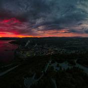 """Corner Brook Newfoundland """"Calm Before the Storm"""""""