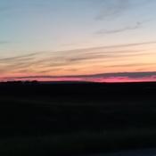 Beautiful Prairie Sunset