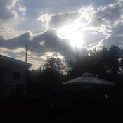 avant orage