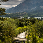 Weather moving into Waterton Lakes National Park