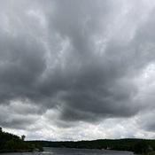 Stormy skies....