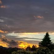 Tonight's sunset.