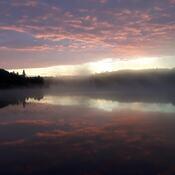 MacCormack Lake, Jaques Township, Ontario - at 5am