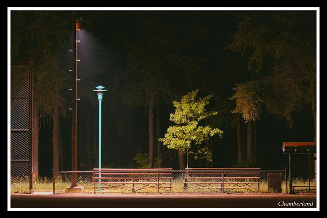 Trois-Rivières,terrain de baseball. Trois-Rivières, QC