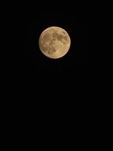 très belle lune Saint-Lin-Laurentides, QC