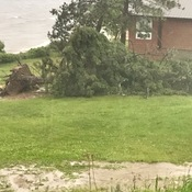 STORM DAMAGE IN SIOUX LOOKOUT, ON - JUNE 23rd