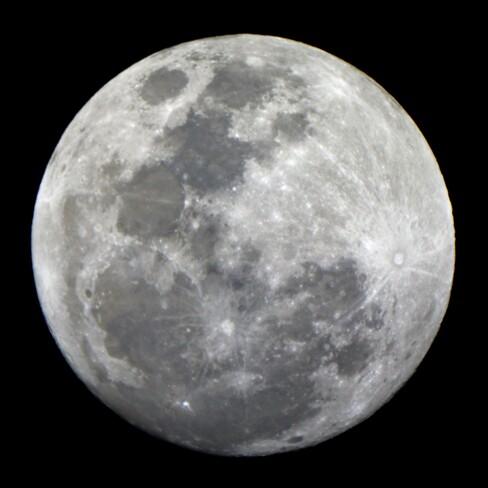 Magnifique lune Sherbrooke, QC