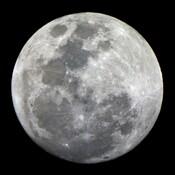 Magnifique lune