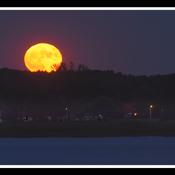 Trois-Rivières, pleine lune du 24 juin.