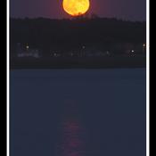 Trois-Rivières,pleine lune 24 juin.