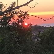 Coucher de soleil - Chutes de Riviere-du-Loup
