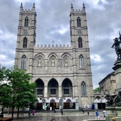 Notre Dame Basilica In Old Montreal
