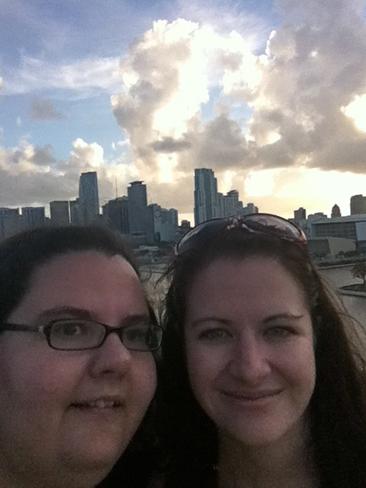 Clouds Rolling In Miami, FL, USA