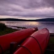 Fin de journée au parc national du lac Témiscouata