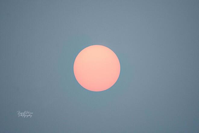 Soleil rose d'aujourd'hui à Ottawa Ottawa, ON