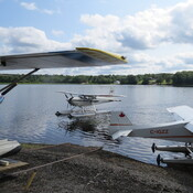 Planes in New Germany Lake.