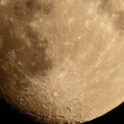Bottom of moon