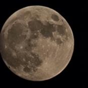 photo de la lune avec s21 ultra