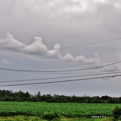 Une Chaîne de nuages .