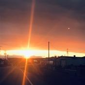 Lorsque le soleil déchire le ciel