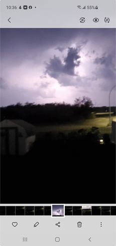 Storm moving in Orkney No. 244, SK